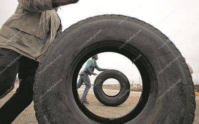 Hi-tech plan lets firm recover and recycle tyres and create jobs