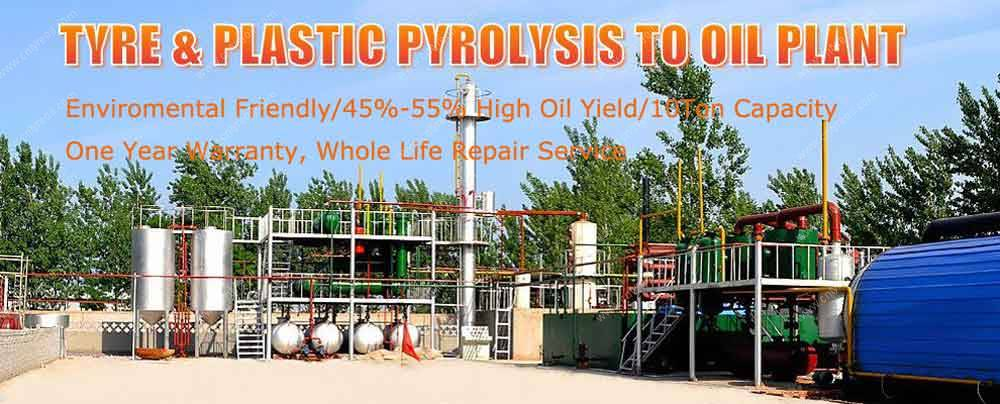 Romiter-Tyre&Plastic-Pyrolysis-to-Diesel-Oil-Plant