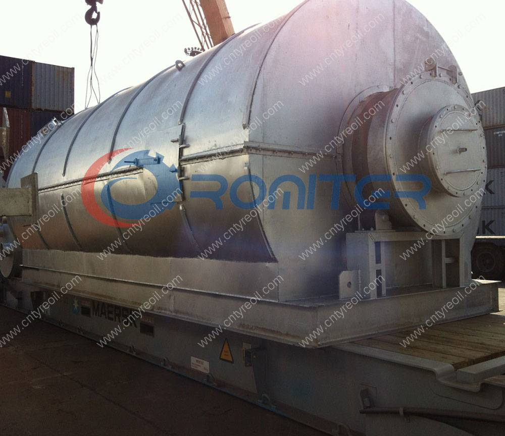 10Ton Per Batch Waste Tyre Recycling to Diesel Oil Plant