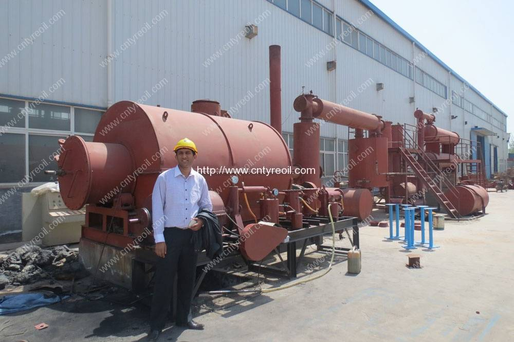 Waste Engine Oil Distillation Plant | Waste Tyre to Oil