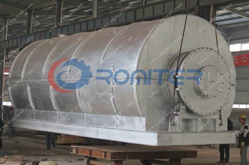 Waste Tyre Pyrolysis to oil machine delivery