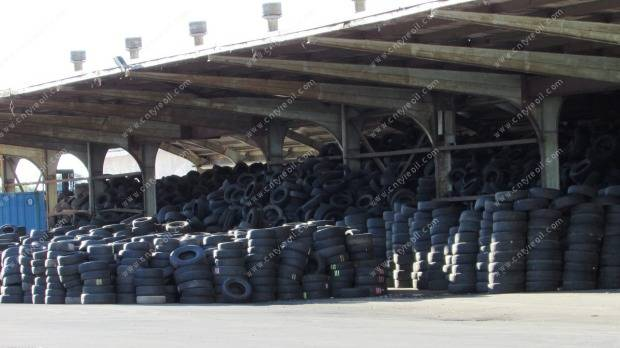 Thousands of old tyres dumped in Frankton 2