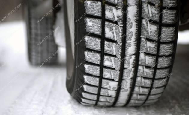 Tyres made from burned rice husk