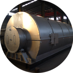 Waste Tyre Pyrolysis to Diesel Oil Plant