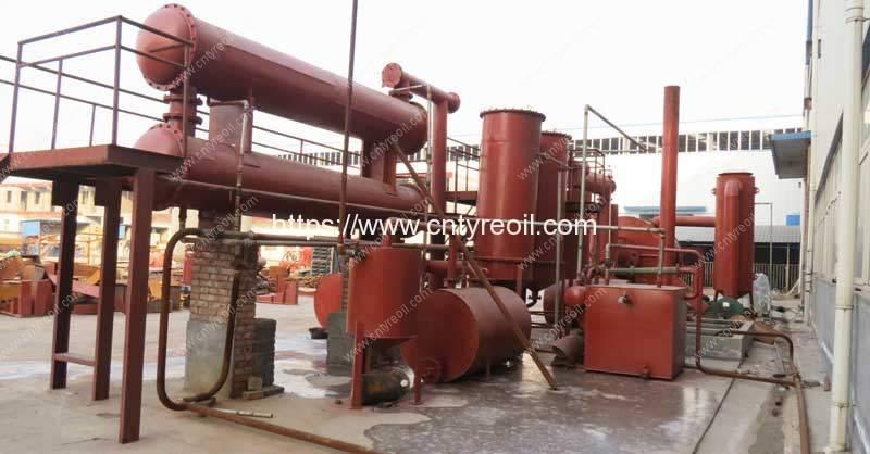 Waste Tyre Pyrolysis to Diesel Oil Plant in Sri lanka